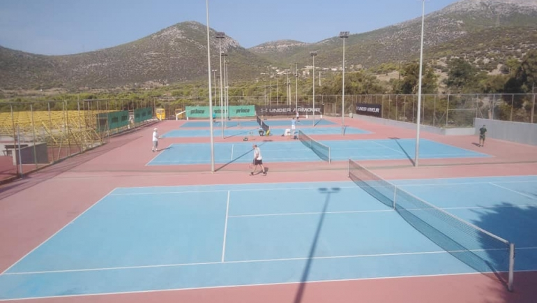 A. T. T. Round Robin Tennis Tour at MTA by George Stamoulos, στα εκπαιδευτηρια τ…