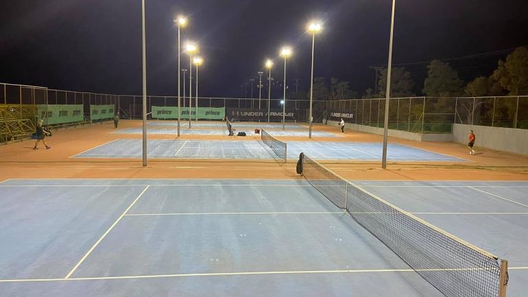 Παίζουμε τένις, τηρούμε το ισχύον υγειονομικό πρωτόκολλο, μένουμε ασφαλείς! #Pl…